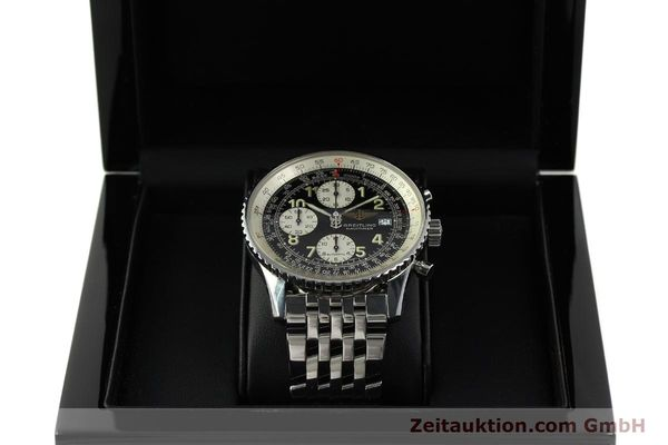 Used luxury watch Breitling Navitimer chronograph steel automatic Kal. B13 ETA 7750 Ref. A13022  | 150909 07