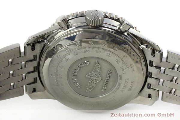 Used luxury watch Breitling Navitimer chronograph steel automatic Kal. B13 ETA 7750 Ref. A13022  | 150909 09