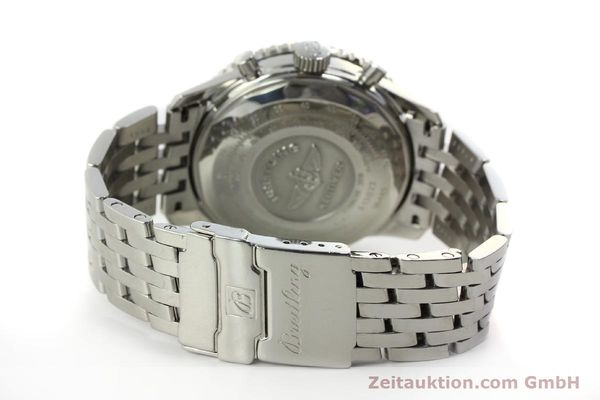 Used luxury watch Breitling Navitimer chronograph steel automatic Kal. B13 ETA 7750 Ref. A13022  | 150909 11