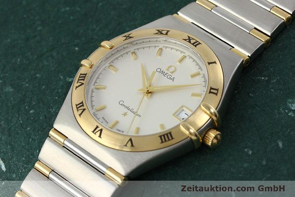 montre de luxe d occasion Omega Constellation acier / or  quartz Kal. 1532 Ref. 396.1201  | 150910 01