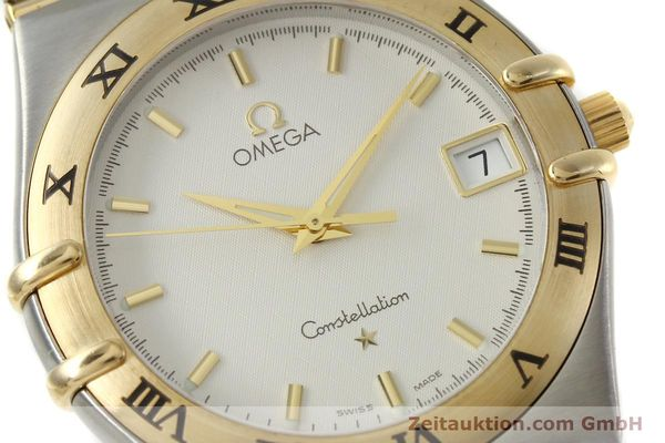 montre de luxe d occasion Omega Constellation acier / or  quartz Kal. 1532 Ref. 396.1201  | 150910 02