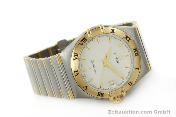 montre de luxe d occasion Omega Constellation acier / or  quartz Kal. 1532 Ref. 396.1201  | 150910 03
