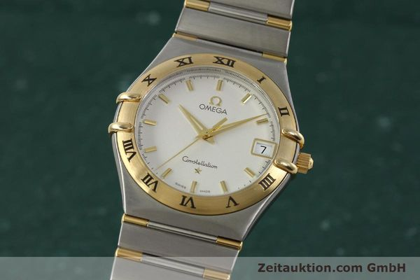 montre de luxe d occasion Omega Constellation acier / or  quartz Kal. 1532 Ref. 396.1201  | 150910 04