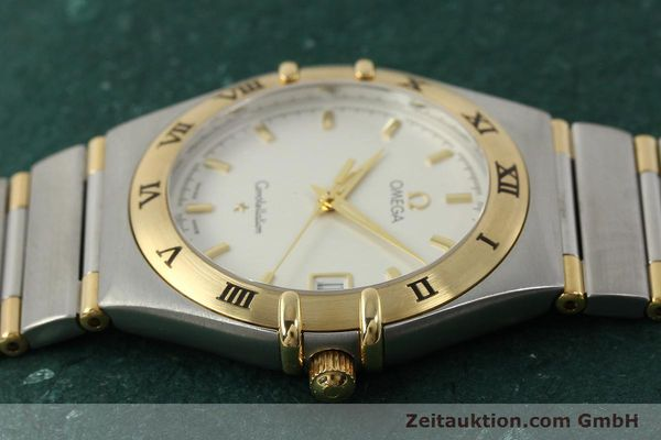montre de luxe d occasion Omega Constellation acier / or  quartz Kal. 1532 Ref. 396.1201  | 150910 05