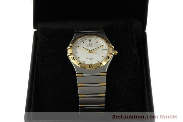 montre de luxe d occasion Omega Constellation acier / or  quartz Kal. 1532 Ref. 396.1201  | 150910 07