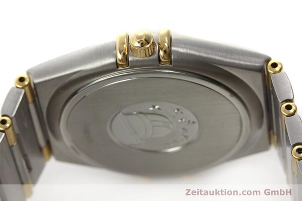montre de luxe d occasion Omega Constellation acier / or  quartz Kal. 1532 Ref. 396.1201  | 150910 08
