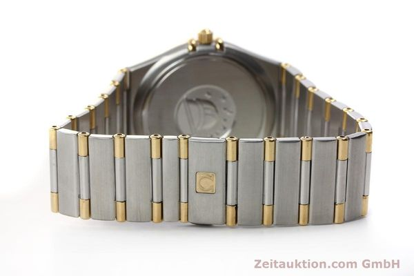 montre de luxe d occasion Omega Constellation acier / or  quartz Kal. 1532 Ref. 396.1201  | 150910 09