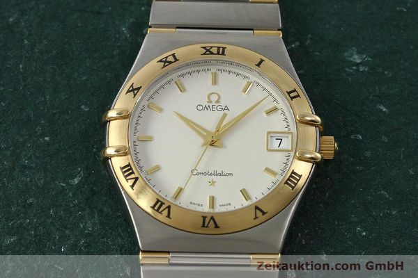 montre de luxe d occasion Omega Constellation acier / or  quartz Kal. 1532 Ref. 396.1201  | 150910 12