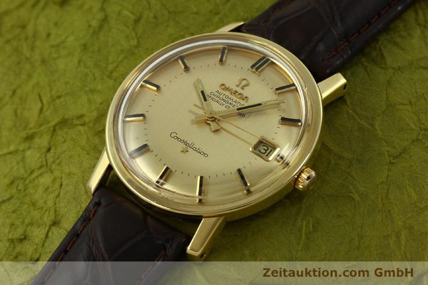 Used luxury watch Omega Constellation 18 ct gold automatic Kal. 564 Ref. 168.010/11  | 150914 01