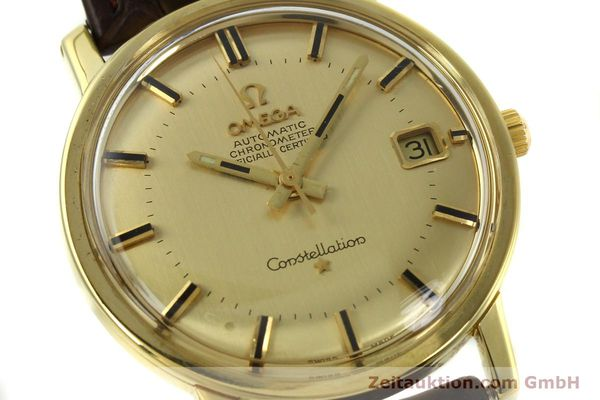 Used luxury watch Omega Constellation 18 ct gold automatic Kal. 564 Ref. 168.010/11  | 150914 02