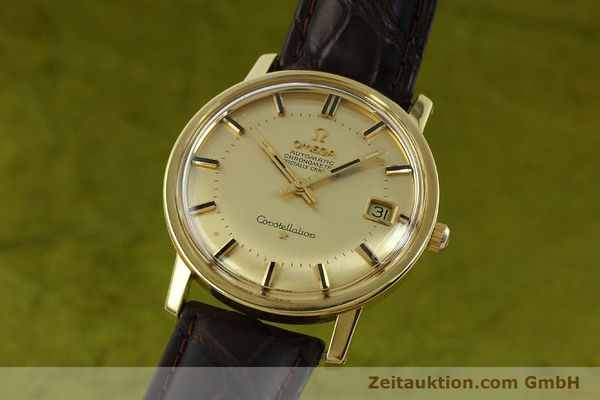 Used luxury watch Omega Constellation 18 ct gold automatic Kal. 564 Ref. 168.010/11  | 150914 04