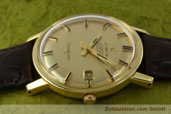 Used luxury watch Omega Constellation 18 ct gold automatic Kal. 564 Ref. 168.010/11  | 150914 05