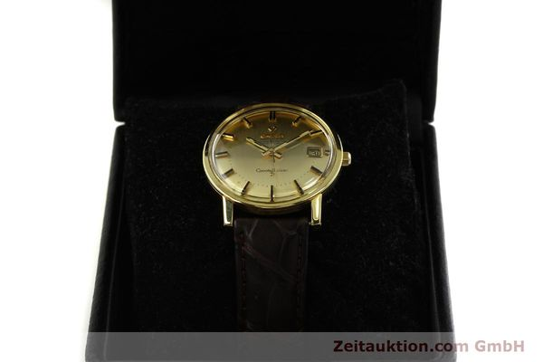 Used luxury watch Omega Constellation 18 ct gold automatic Kal. 564 Ref. 168.010/11  | 150914 07