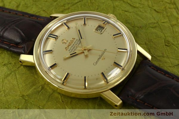 Used luxury watch Omega Constellation 18 ct gold automatic Kal. 564 Ref. 168.010/11  | 150914 13