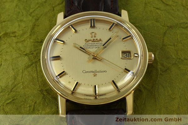 Used luxury watch Omega Constellation 18 ct gold automatic Kal. 564 Ref. 168.010/11  | 150914 14