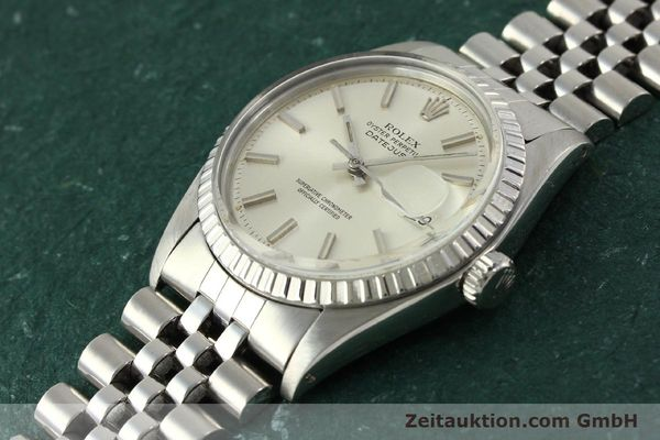 Used luxury watch Rolex Datejust steel automatic Kal. 1570 Ref. 1603  | 150916 01