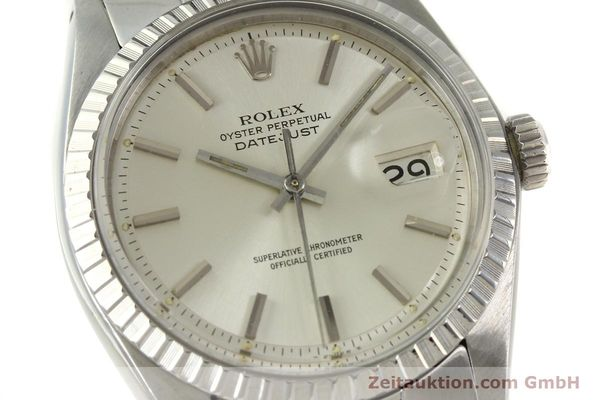 Used luxury watch Rolex Datejust steel automatic Kal. 1570 Ref. 1603  | 150916 02