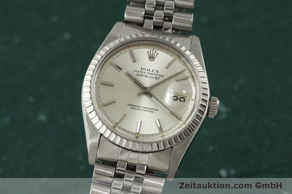 Used luxury watch Rolex Datejust steel automatic Kal. 1570 Ref. 1603  | 150916 04