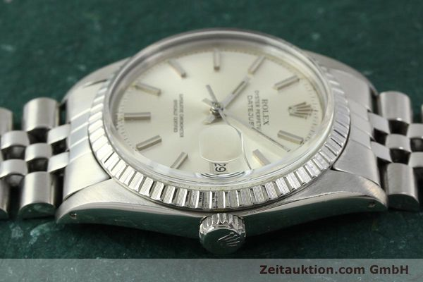 Used luxury watch Rolex Datejust steel automatic Kal. 1570 Ref. 1603  | 150916 05