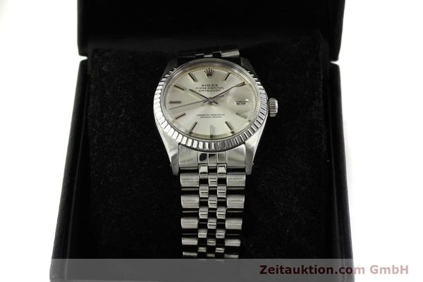 Used luxury watch Rolex Datejust steel automatic Kal. 1570 Ref. 1603  | 150916 07