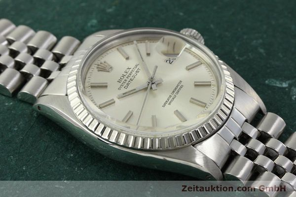 Used luxury watch Rolex Datejust steel automatic Kal. 1570 Ref. 1603  | 150916 14