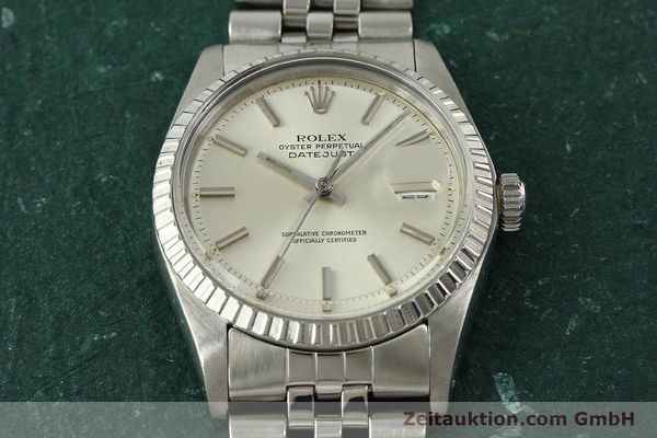 Used luxury watch Rolex Datejust steel automatic Kal. 1570 Ref. 1603  | 150916 15