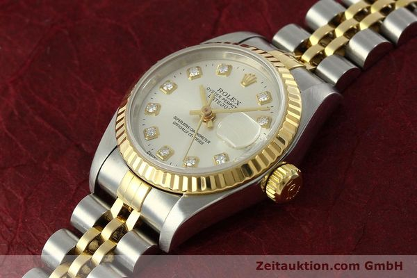Used luxury watch Rolex Lady Datejust steel / gold automatic Kal. 2135 Ref. 6917  | 150917 01