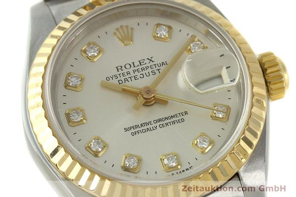 Used luxury watch Rolex Lady Datejust steel / gold automatic Kal. 2135 Ref. 6917  | 150917 02