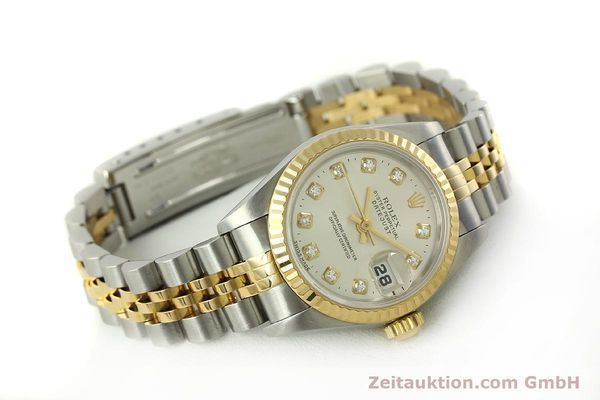 Used luxury watch Rolex Lady Datejust steel / gold automatic Kal. 2135 Ref. 6917  | 150917 03