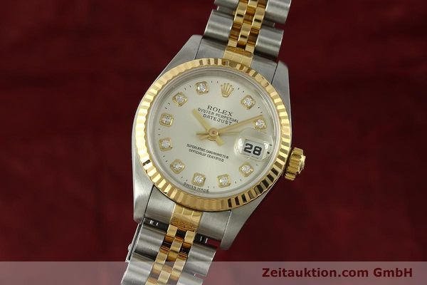 Used luxury watch Rolex Lady Datejust steel / gold automatic Kal. 2135 Ref. 6917  | 150917 04