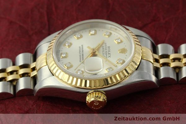 Used luxury watch Rolex Lady Datejust steel / gold automatic Kal. 2135 Ref. 6917  | 150917 05