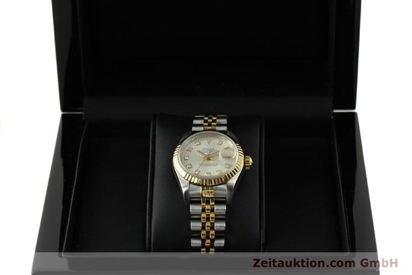 Used luxury watch Rolex Lady Datejust steel / gold automatic Kal. 2135 Ref. 6917  | 150917 07