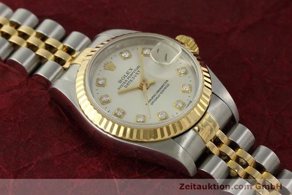 Used luxury watch Rolex Lady Datejust steel / gold automatic Kal. 2135 Ref. 6917  | 150917 15
