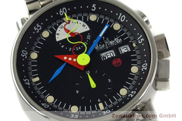 Used luxury watch Alain Silberstein Krono Bauhaus chronograph steel automatic Kal. LWO 5100 LIMITED EDITION | 150920 02