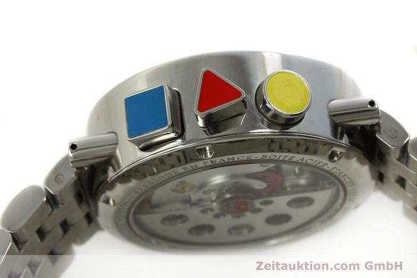 Used luxury watch Alain Silberstein Krono Bauhaus chronograph steel automatic Kal. LWO 5100 LIMITED EDITION | 150920 11