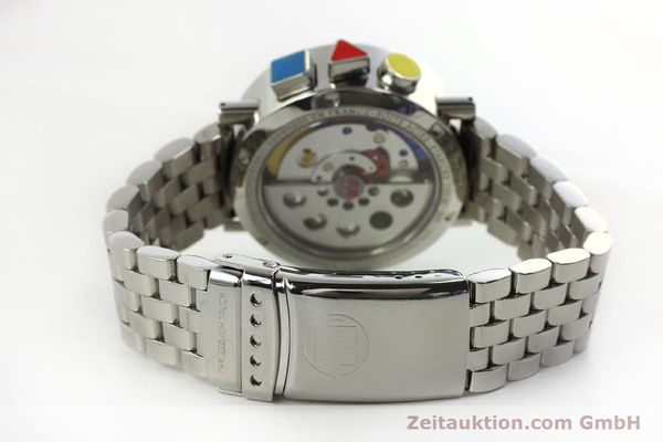 Used luxury watch Alain Silberstein Krono Bauhaus chronograph steel automatic Kal. LWO 5100 LIMITED EDITION | 150920 12