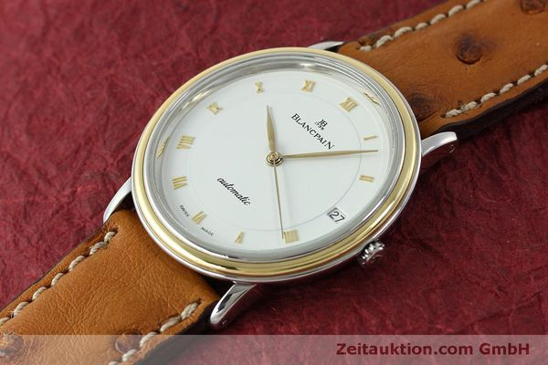 Used luxury watch Blancpain Villeret steel / gold automatic Kal. 9513  | 150924 01