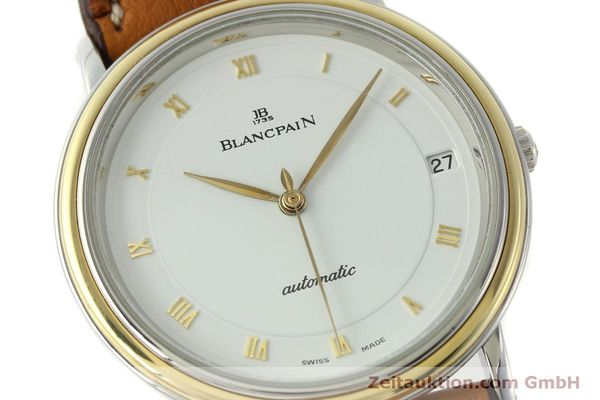 Used luxury watch Blancpain Villeret steel / gold automatic Kal. 9513  | 150924 02