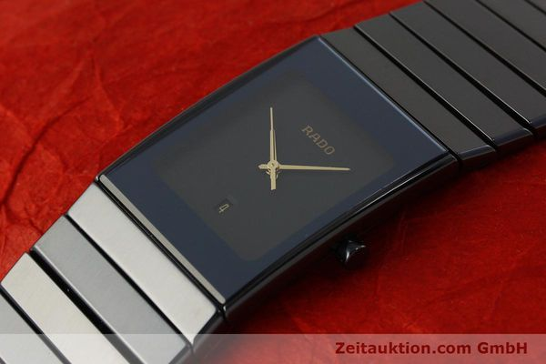 Used luxury watch Rado Diastar Ceramica ceramic / steel quartz Kal. ETA 256.111 Ref. 152.0347.3  | 150939 01