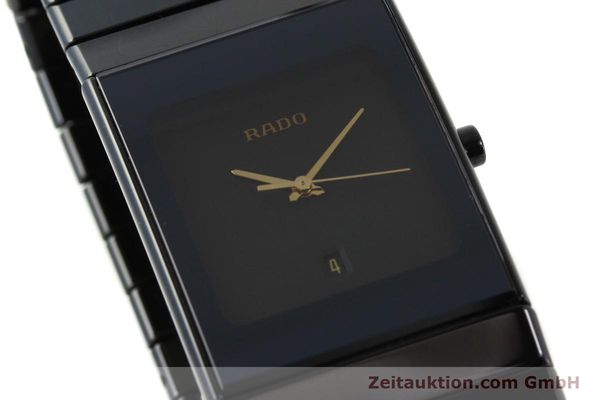 Used luxury watch Rado Diastar Ceramica ceramic / steel quartz Kal. ETA 256.111 Ref. 152.0347.3  | 150939 02
