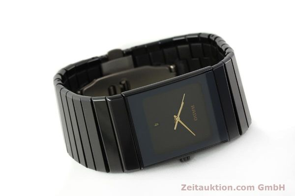 Used luxury watch Rado Diastar Ceramica ceramic / steel quartz Kal. ETA 256.111 Ref. 152.0347.3  | 150939 03