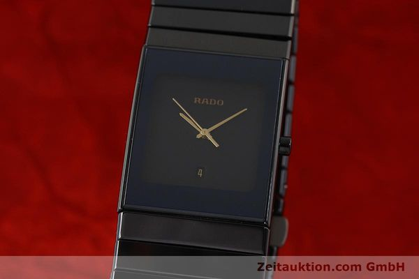 Used luxury watch Rado Diastar Ceramica ceramic / steel quartz Kal. ETA 256.111 Ref. 152.0347.3  | 150939 04