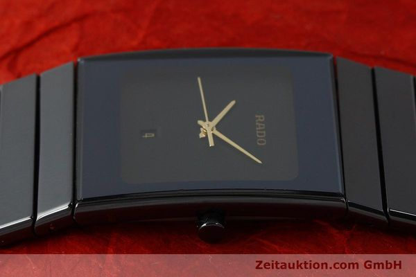Used luxury watch Rado Diastar Ceramica ceramic / steel quartz Kal. ETA 256.111 Ref. 152.0347.3  | 150939 05