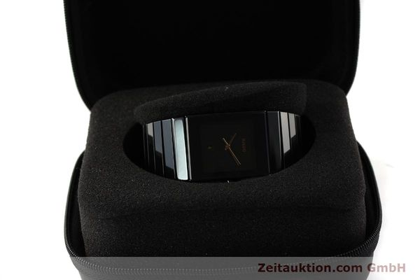 Used luxury watch Rado Diastar Ceramica ceramic / steel quartz Kal. ETA 256.111 Ref. 152.0347.3  | 150939 07