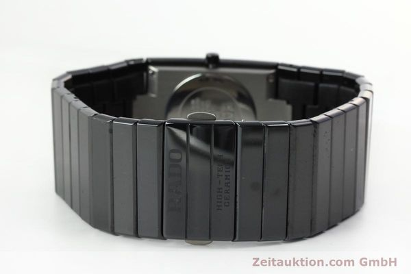 Used luxury watch Rado Diastar Ceramica ceramic / steel quartz Kal. ETA 256.111 Ref. 152.0347.3  | 150939 10