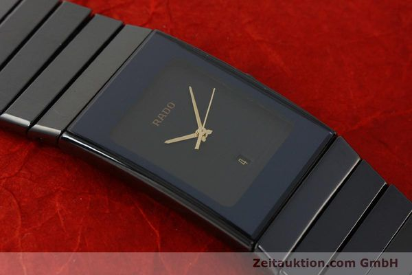 Used luxury watch Rado Diastar Ceramica ceramic / steel quartz Kal. ETA 256.111 Ref. 152.0347.3  | 150939 14