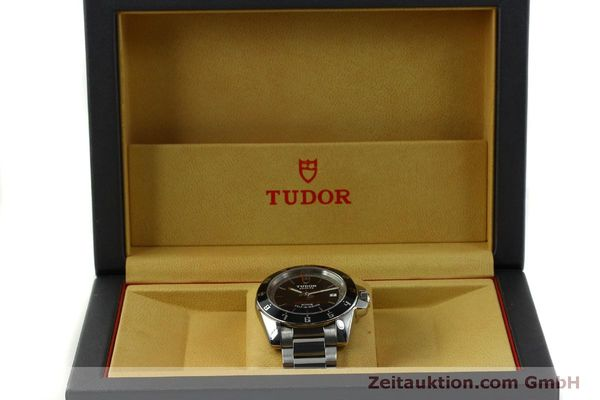 Used luxury watch Tudor Grantour steel automatic Kal. ETA 2824-2 Ref. 20050N  | 150942 07