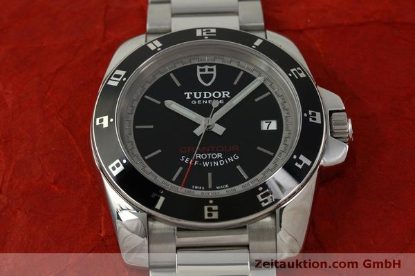 Used luxury watch Tudor Grantour steel automatic Kal. ETA 2824-2 Ref. 20050N  | 150942 17