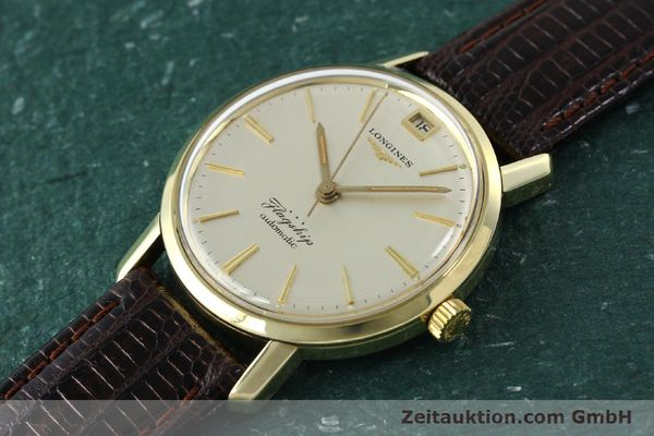 Used luxury watch Longines Flagship gold-plated automatic Kal. 341 VINTAGE  | 150943 01