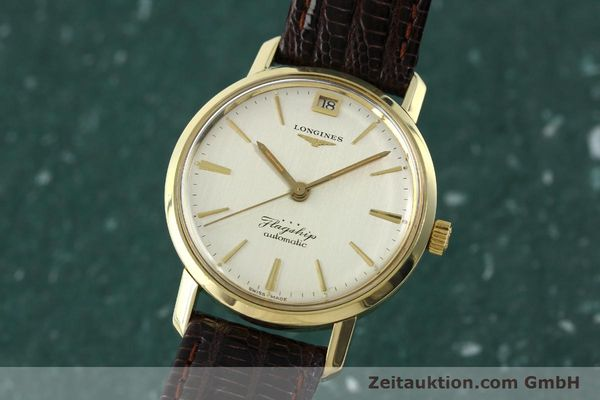 Used luxury watch Longines Flagship gold-plated automatic Kal. 341 VINTAGE  | 150943 04